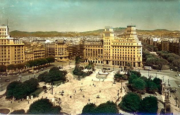 Площадь Каталонии- Барселона