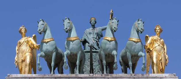 Арка на площади Каррузель