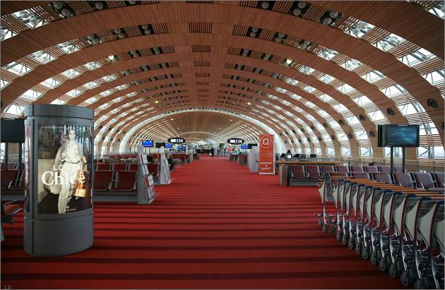 Аэропорт в Париже