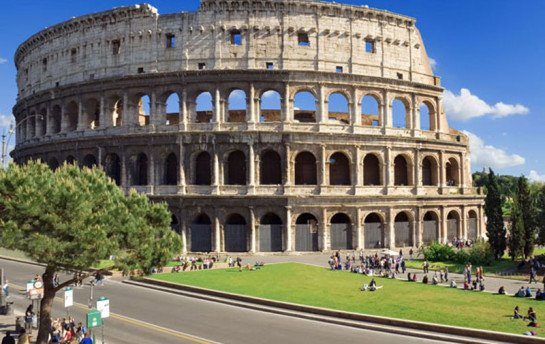 Рим. Прогулка по холму Целий