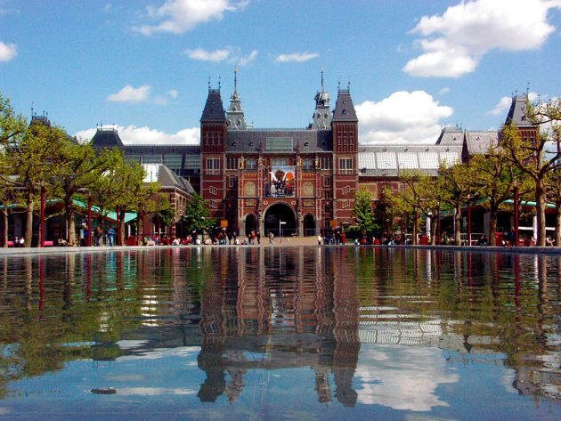 Центральный вокзал Амстердама