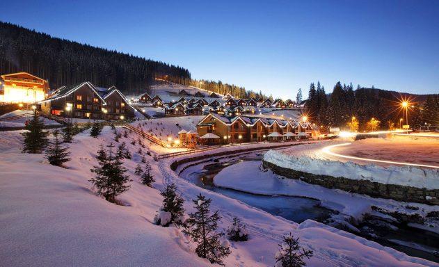 Берем сноуборд и едем в Буковель
