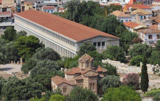 Греческая Агора — древнее сердце Афин