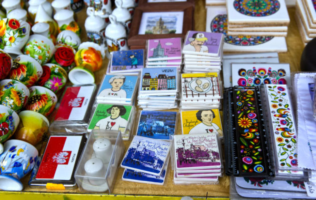 Сувениры из Польши и Великобритании