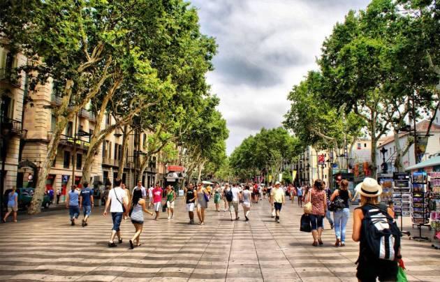 Барселона пешеходные маршруты