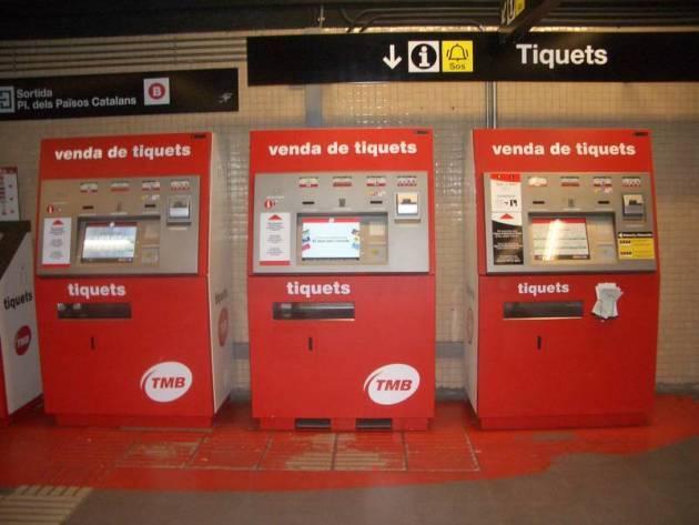 Схема метро Барселоны2