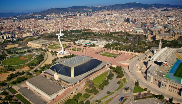Монжуик Барселона
