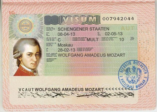 Как оформить туристическую визу в Австрию