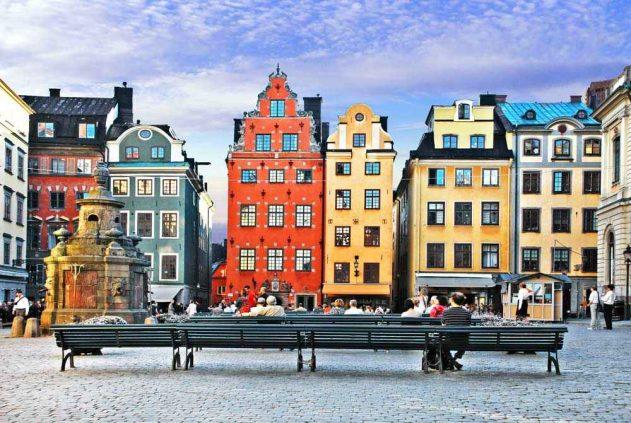 Медовый месяц в Стокгольме