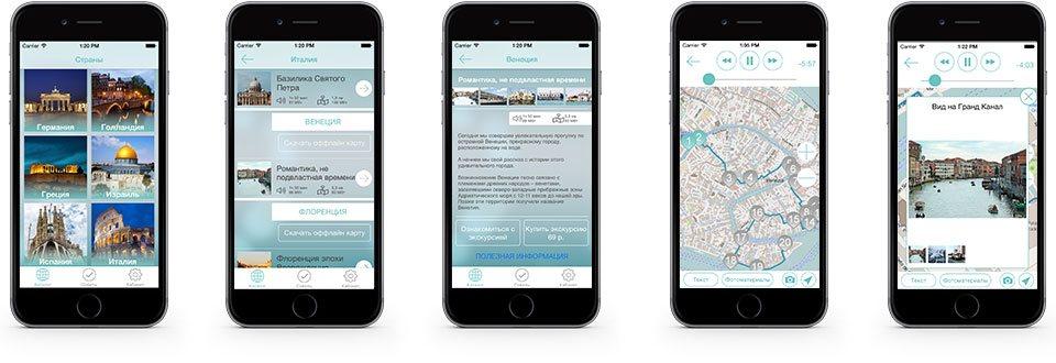 Путеводитель для iPhone, iPad и Android- YARVITTO