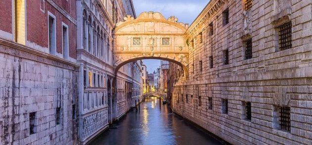 романтика Дворцового канала – Мост Вздохов