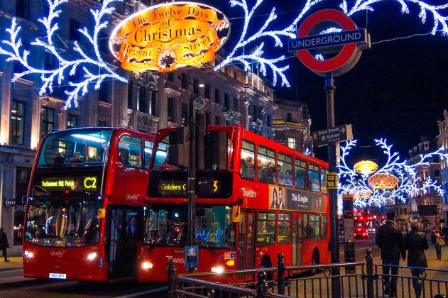 Встречаем рождество в Лондоне