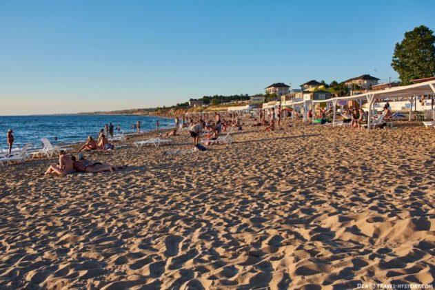 Пляжи Учкуевки